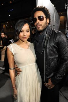 Pin for Later: 28 Pictures That Prove Zoë Kravitz Had No Choice but to Be Ridiculously Good Looking  Lenny and Zoë attended the Spirit Awards together in March 2010.