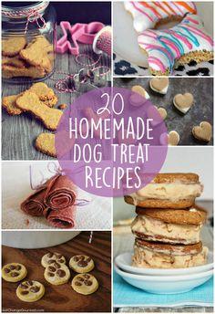 20 Awesome Homemade Dog Treat Recipes
