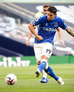 James Rodriguez, Everton, Football Players, Club, Running, Nike, Sports, Wallpaper, Outfits