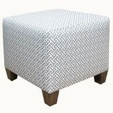 Found it at AllModern - Cross Section Fabric Cube Ottoman