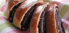 Poppy-seed roll, Ukrainian Traditional Recipes - description, pictures, cooking tips. Sweets Recipes, Cookie Recipes, Cheese Rolling, Czech Recipes, Polish Recipes, Sweet Bread, Tray Bakes, No Bake Cake, Hot Dog Buns
