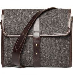 Cherchbi Tweed Messenger Bag 1
