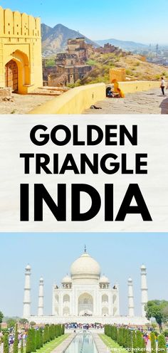 Golden Triangle India travel tips for south Asia. First trip to North India travel guide for backpacking India. Taj Mahal visit in Agra, Jaipur fort and palace, Delhi. amber fort. Best places to visit. Best things to do. How to get around public transportation by bus, train. taxi uber. route itinerary. along with rajasthan tour to udaipur, jodhpur, jaisalmer. beautiful places for world bucket list, wanderlust inspiration. #flashpackingkerala