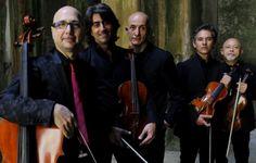 """Peppe Servillo & Solis String Quartet presentano PRESENTIMENTO ai Concerti nel Parco al Festival """"I Concerti nel Parco"""" Casa del Jazz a Roma."""