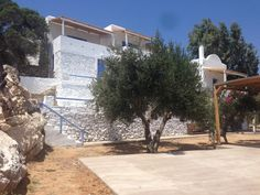 Beach House Antiparos Beach House, Journey, Mansions, House Styles, Home Decor, Beach Homes, Decoration Home, Manor Houses, Room Decor