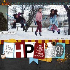Harry Potter Wannabes - Scrapbook.com