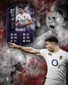 Man of the match card for ben youngs english rugby player Six Nations Rugby, English Rugby, Man Of The Match, Rugby Players, Cards, Men, Guys, Maps, Playing Cards