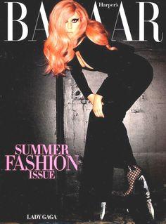 Harper's Bazaar Lady Gaga May 2011 Lauren Bush Alexander McQueen Missoni
