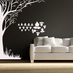 Wall-Decal-Tree-Branch-Vinyl-Sticker-Home-Decor-Interior-Design-Bedroom-Art-LM36