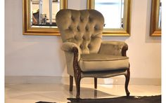 Anita fotel - Novello Wingback Chair, Accent Chairs, Furniture, Home Decor, Living Room, Upholstered Chairs, Decoration Home, Room Decor, Wing Chairs