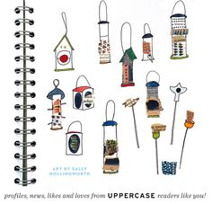 Art and patterns by UPPERCASE readers from around the world.