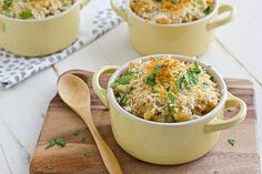 Roasted Poblano Mac & Cheese