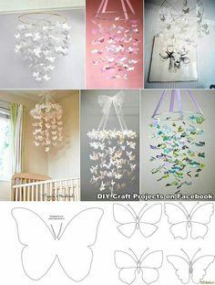 Butterfly chandeliers