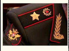 Что изображено на погонах Министра обороны РФ?