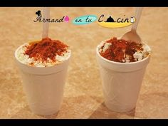 Esquites Deliciosos - YouTube Tamarindo, Fries, Cereal, Appetizers, Pudding, Sweets, Sugar, Breakfast, Desserts