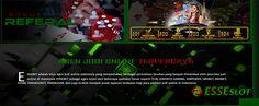 Pada kesempatan kali ini kami sebagai agen judi slot online Esseslot.com Mesin slot online joker123 terpercaya dan terbaik. Slot Online, Dan