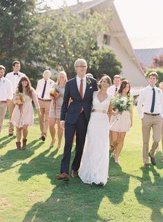 Elegant Vintage September Wedding