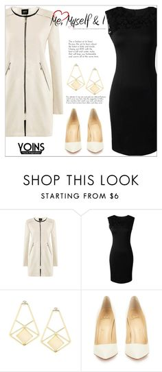 """""""Yoins 2:30"""" by mycherryblossom ❤ liked on Polyvore featuring Christian Louboutin"""