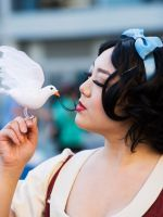 15 Amazingly Over-The-Top Female Cosplayers From Disney's Expo  #refinery29  http://www.refinery29.com/2015/08/92552/women-cosplay-costumes-d23-expo