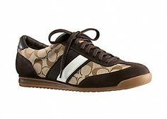 Coach shoe for men = LAME, LAME, LAME.  Any man who wears these must be reminded that he is LAME.  Vehemently.  And often.