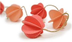 Silhouette Design Store - Design #26324: scalloped globe garland - perfect for parties and holidays!