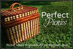 Picnics require more planning than burgers-in-a-bag, but the family loves them and the effort is totally worth it to us! Description from aslobcomesclean.com. I searched for this on bing.com/images