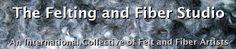 feltingandfiberstudio   An international collective of felt and fiber artists