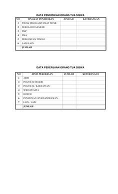 Blogedukasi Referensi Contoh Buku Tamu Kelas Untuk Administrasi