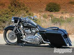 2008 Harley Davidson Road King Left View -- Timeless.