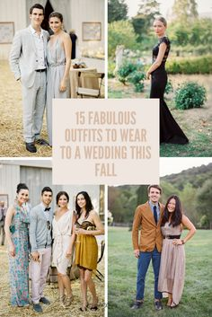 15 Fabulous Outfits To Wear Any Wedding This Fall Next