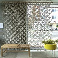 Sally England: Macrame Wall Hanging/Room Divider- Relish Natural Home Interiors - Relish Natural Home Interiors