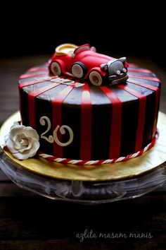 Antique car cake by Posh Party Cakes on Facebook Cakes