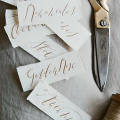 Elegant Calligraphy-Katie Decker Hyatt @signoraemare Instagram photos | Webstagram