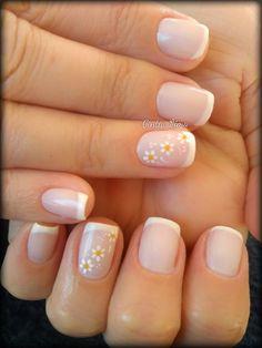 Fancy Nails, Pretty Nails, Gel French Manicure, Cute Acrylic Nails, Mani Pedi, Wedding Nails, Nail Colors, Nail Designs, Nail Polish