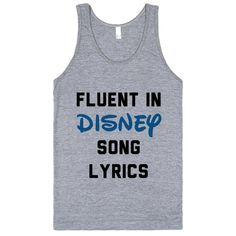 Fluent In Disney Song Lyrics