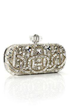 Crystal Beaded Clutch by Marchesa for Preorder on Moda Operandi   $2,795.00