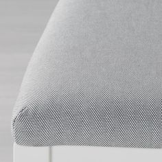EKEDALEN / EKEDALEN Table and 6 chairs, white, Orrsta light gray. Every table is unique, with varying grain pattern and natural color shifts that are part of the charm of wood. One person can quickly and smoothly extend the table before the guests arrive. Stool Height, Counter Height Stools, Bar Stools, Chaise Ikea, Chaise Bar, Table Bar, Table Legs, Solid Pine, Solid Wood