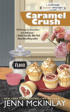 Caramel Crush - Jenn McKinlay ... Can't decide if I like this series or her Library Lovers Series best.  All good! Jill-Ayn Martin