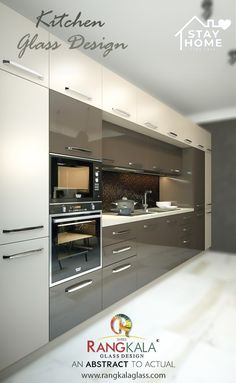 The kitchen is the main element of every home. We have a concept for your kitchen interior. used plain any color of the back-painted glass for your kitchen profile. usually used in the kitchen is white and black back-painted glass. Glass Kitchen Cabinets, Kitchen Appliances, A Table, Dining Table, Back Painted Glass, Kitchen Modular, Glass Company, Glass Design, Cabinet Doors