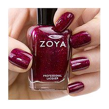 Zoya nail polish is toxin free! Don't use polish with formalddehyde, toulene, camphor and/or dibutyl phthalate! That is not healthy. Blaze is one of my favorite colors!