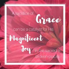 When Grace is more t