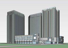 现代办公楼 现代公寓