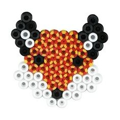 Fox hama beads