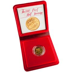 British Half Sovereign 1980 Proof Gold Coin - 1/2 Sovereign Gold Coin | UK…