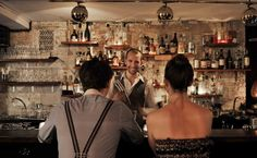 Happiness Forgets: a small, subterranean bar in Hoxton, London, serving well-crafted cocktails.