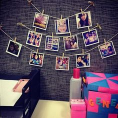 Keep decorations subtle like these pictures, but avoid overcrowding your desk with personal products - 20 Creative DIY Cubicle Decorating Ideas, http://hative.com/creative-diy-cubicle-decorating-ideas/,