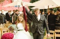 YEAH! - Winter Colorado Wedding by Christopher Nolan Photography - via ruffled