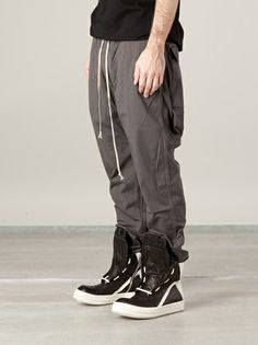 Rick Owens DRKSHDW - drop crotch trouser 7