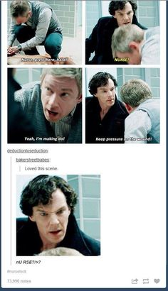 Yes, Sherlock nurse it shall be