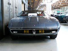 Maserati Ghibli 5000 SS Carrozzeria Ghia (1969-1973)